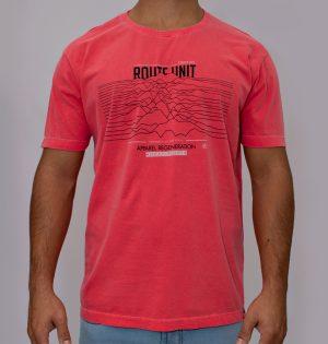 Camiseta Estonada Estampa Mountain