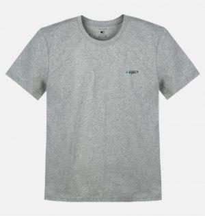 Camiseta Mescla Estampa Logo