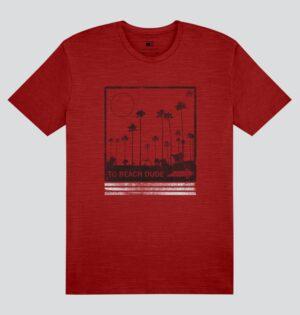 Camiseta Flamê Estampa Palmeira