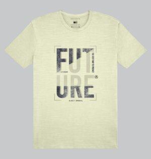 Camiseta Flamê Estampa Future