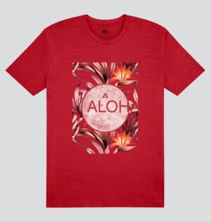 Camiseta Flamê Estampa Aloha