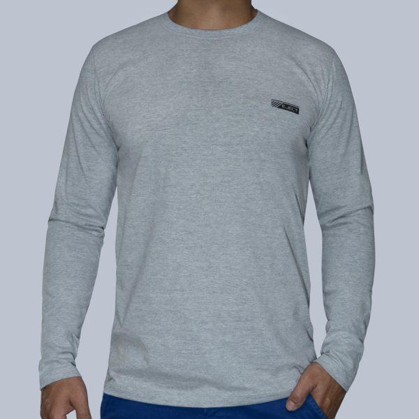 Camiseta Manga Longa Mescla