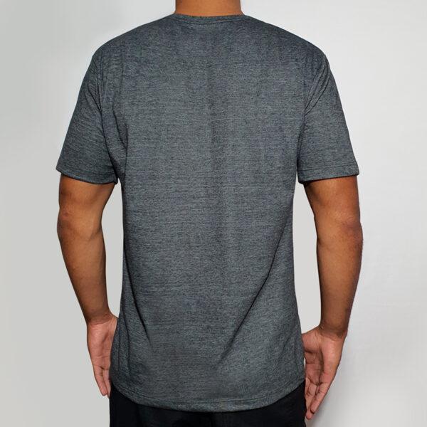 Camiseta Mescla Estampa Bicicleta