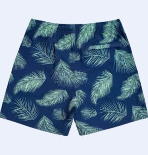 Short Sublimado Estampa Folhagem