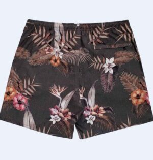 Short Sublimado Estampa Tropical