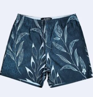 Short Sublimado Estampa Folhas